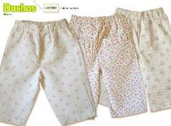 Pantalon corderina estampada