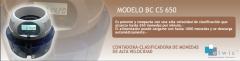 Contadora/ Clasificadora de monedas/ Modelo BC