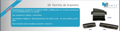 Scanners portables/ Modelos SB500- SB600- SB1000