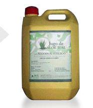 Extracto hidroalcohólico de Aloe Vera para uso