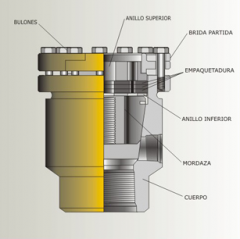 Submersible oil-injected motors