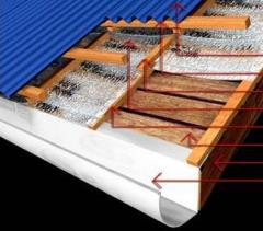 Heat-proofing materials for facades