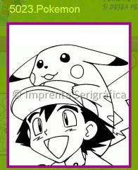 Globos con figuras de Pokemon