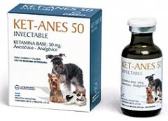 Sedantes - Ket-Anes 50 Inyectable