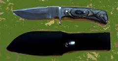 Cutting hunting knives