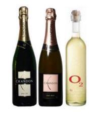 Champagne y Vinos Chandon en Cajas