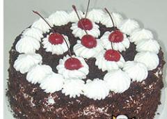 Tortas de chocolate. Selva Negra