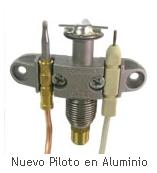 Piloto en aluminio de encendido directo