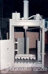 Prensas para Enfardar Sólidos de baja densidad