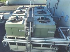 Evaporating condensers