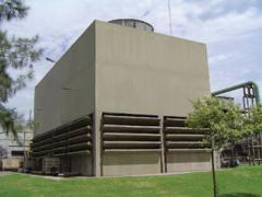 Ventilation cooling tower