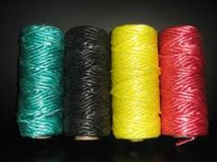 Mixed yarn from chemical fibers