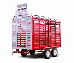 Acoplado Balancín Transporte de  Animales Hovant