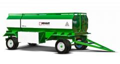 Tank trucks for transportation of fuels and