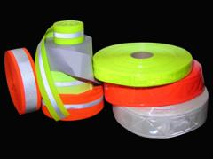 Reflective fire resistant tape