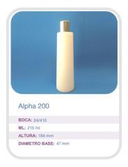 Envase Alpha 200