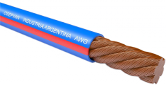 Cable with a heat-resistant insulation