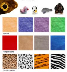 Materiales para la confección de Peluches y Juguetería