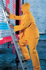 Protective clothing, waterproof, watertight