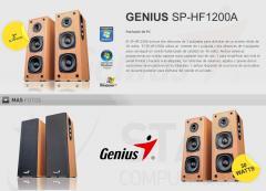 Parlante GENIUS - SP-HF1200A WOOD SPEAKER 30W