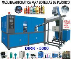 Máquina automática para fabricar botellas