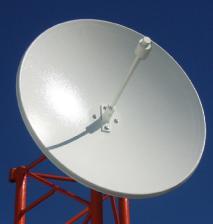Satellite communication antennas