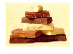 Coberturas de chocolate, Baños de repostería