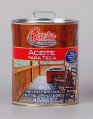 Sellador y Aceite para Teca Impermeabilizante