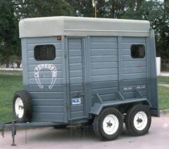 Trailler Doble para Transporte de Equinos