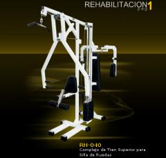Complejo de tren superior para sillas de ruedas