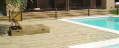 Pavimento de suelo de madera