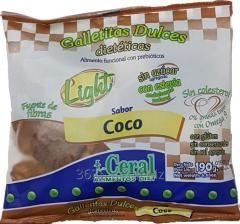 Home-made Light cookies of Cocon