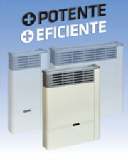 La línea de calefactores Emegé Euro