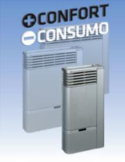 Los calefactores Línea Eurocontrol