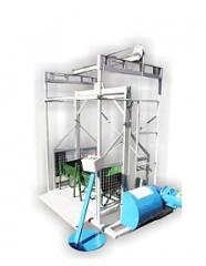 Plataforma elevadora de materiales