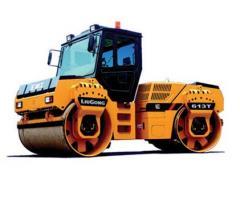 Maquinaría Pesada Vibrocompactador doble CLG 613 T