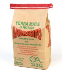 Yerba Mate Tradicional saco de 2 kg.