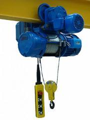 Polipasto eléctrico a cable de acero Serie TUP-C