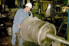 Industria Petrolera - Rotor Turbina Múltiple