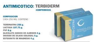 Antimicótico: Terbiderm