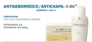 Antiseborreico/ Anticaspa: C-86
