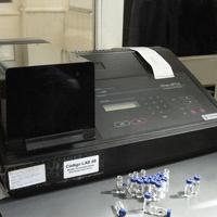 Laboratorio - medidor de humedad karl fischer