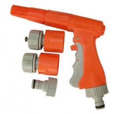 Kit Pistola Chorro Regulable C/Accesorios Cod.