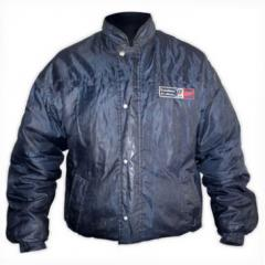 Campera de Tela Impermeable