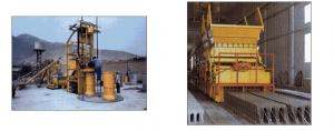 Máquinas para la fabricación de viguetas