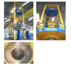 Máquinas de fabricación de tubos de concreto