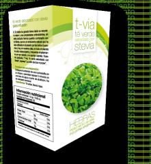Té Verde Saborizado Con Stevia (Hebras)