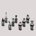 Válvulas manuales y mecánicas