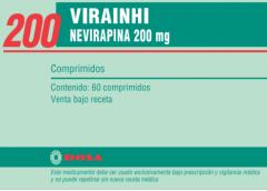 Antirretroviral Nevirapina 200 mg