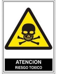 Atención riesgo toxico A-030
